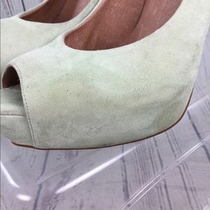 Office London Shoes - Office London Suede Stiletto Heels 8